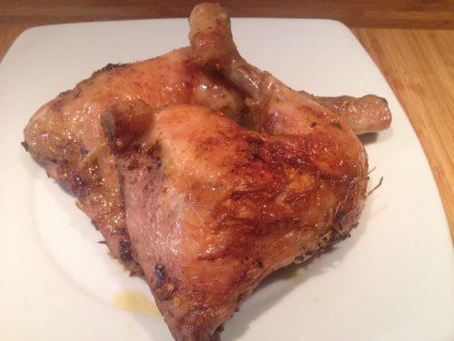 Pollo al forno marinato al Chipotle