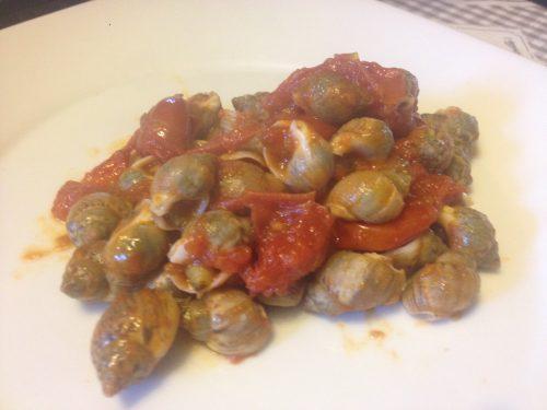 Lumachine di mare o Maruzzelle al pomodoro piccanti