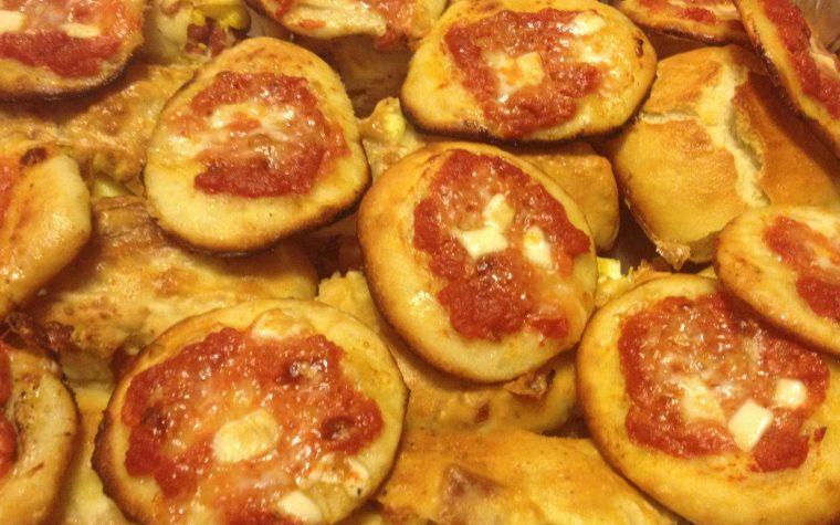 Pizzettine sfiziose