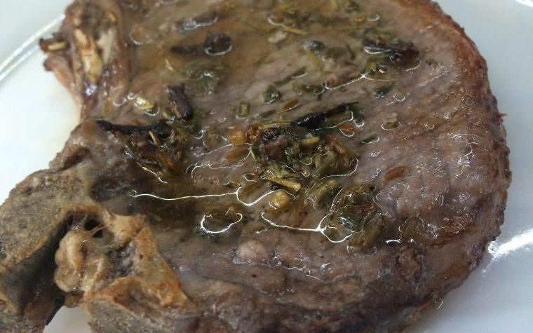 Nodini di maiale marinati al forno