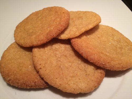 Biscotti morbidi cannella e zucchero di canna