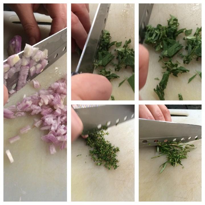 Fettine di tagliata marinate agli aromi