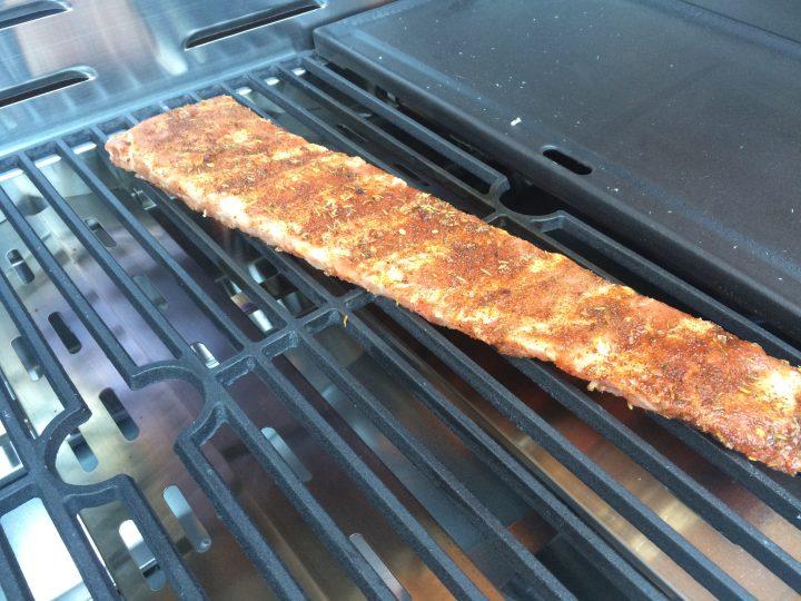 Costine di maiale BBQ all'americana