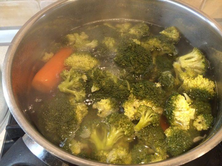 Crocchette broccoli e carote