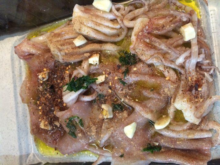 Calamari allo zenzero