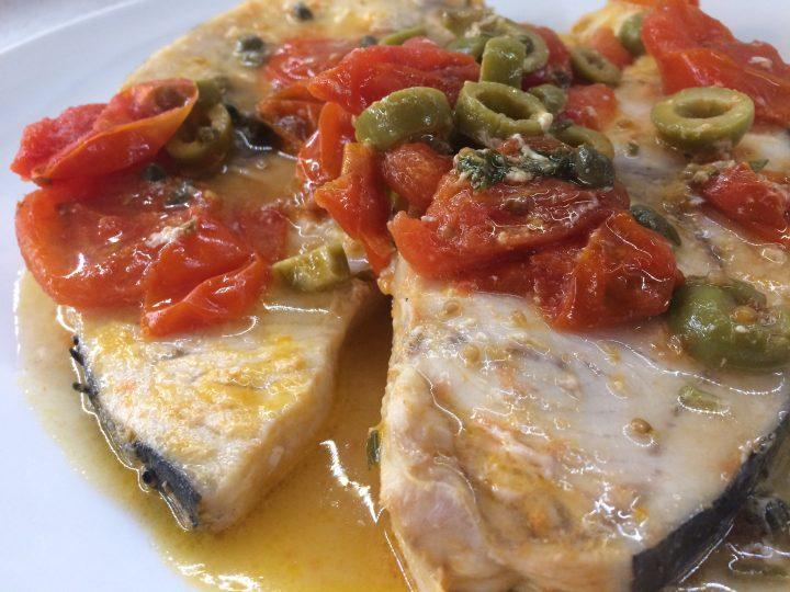 Pesce spada alla siciliana