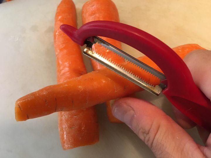 Vellutata di carote,mela e zenzero