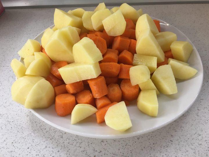 Vellutata di carote cannella e zenzero
