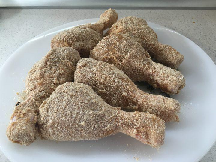 Fusi di pollo fritti alla paprika affumicata