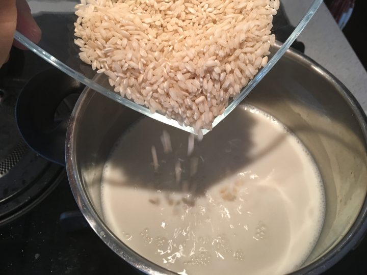 Riso al latte miele e cannella