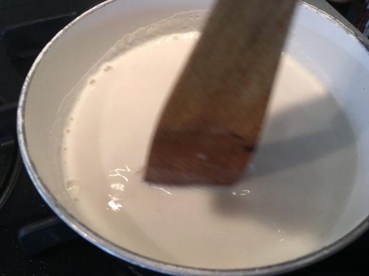 Riso al latte con noce moscata