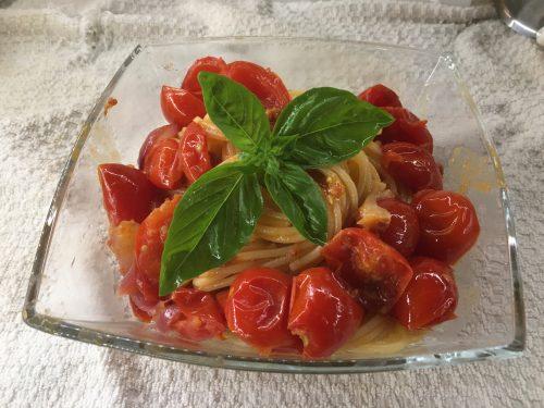 (Italiano) Spaghetti pomodorini e 'nduja