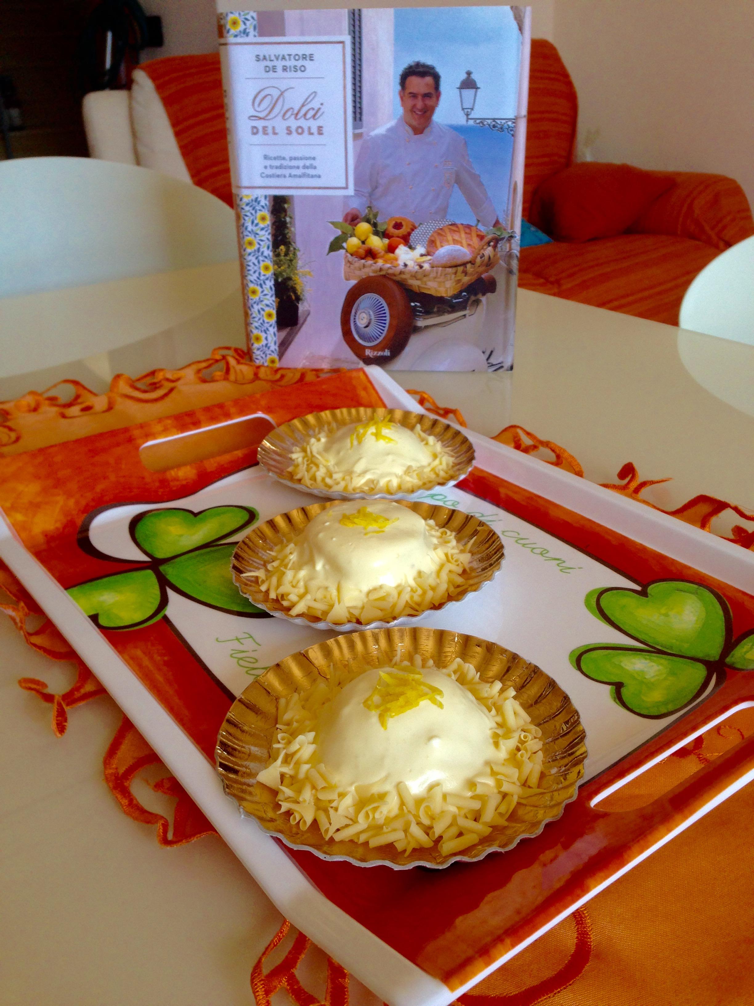 Delizie al limone (ricetta di Sal De Riso adattata al Bimby)