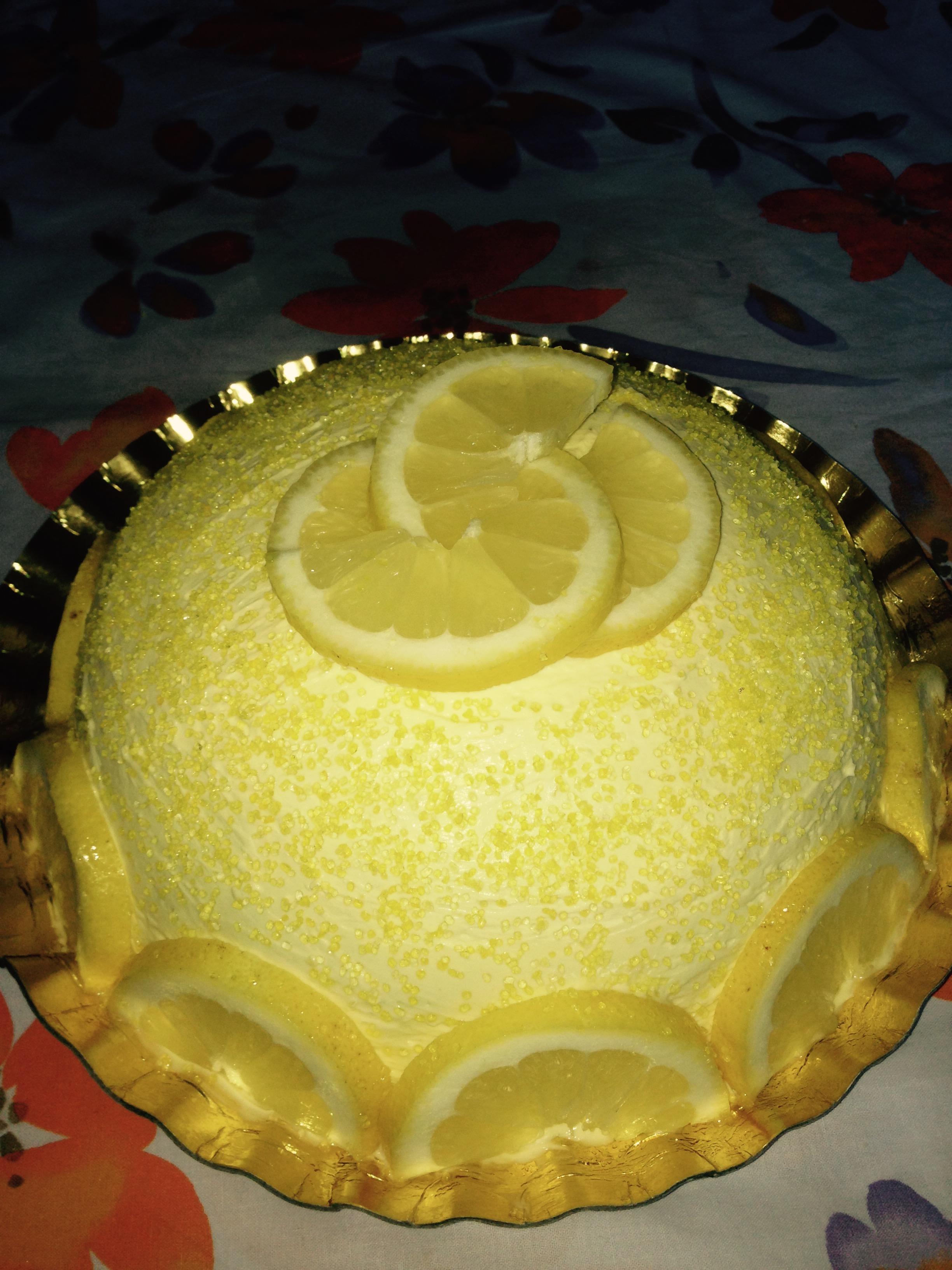 Torta Delizia al limone (Bimby)