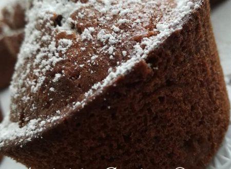 Muffin con yogurt e cioccolato fondente