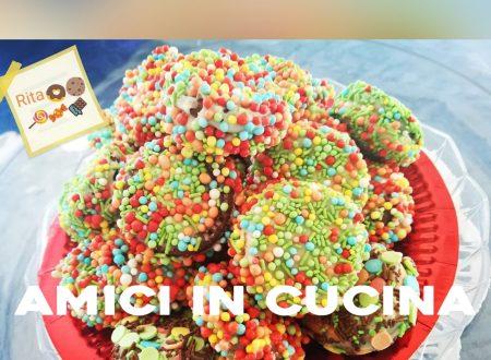 Biscottini colorati della befana