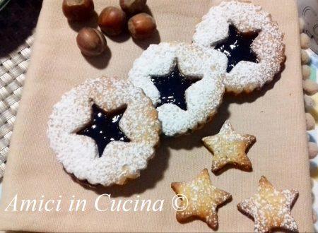 Linzer biscotti