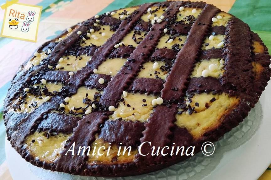 Pastiera napoletana al cioccolato rivisitata