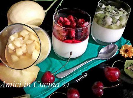 Panna cotta con Frutta