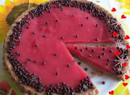 Crostata morbida all'anguria