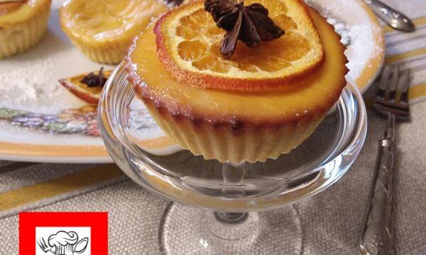 Crema cotta di ricotta e succo di arancia