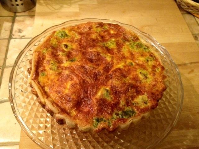 Torta salata broccoletti e pancetta senza glutine la - Comprare cucina senza elettrodomestici ...