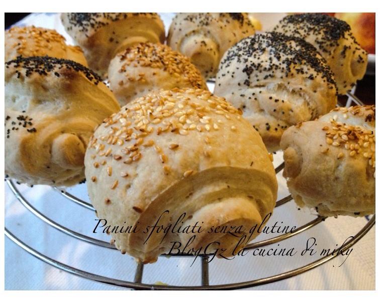 Panini sfogliato senza glutine BlogGz la cucina di miky