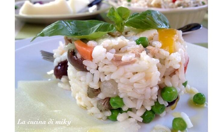 Insalata di riso mediterranea BlogGz la cucina di miky