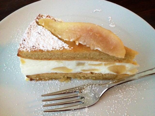 Torta ricotta e pere senza glutine la cucina di miky for Decorazioni zucchero a velo