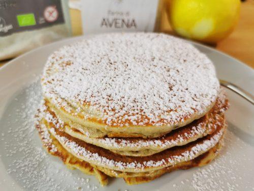 Pancakes alla banana senza glutine