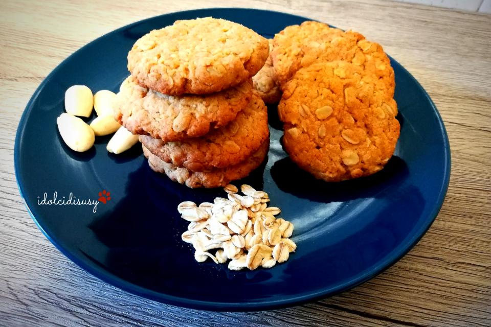 idolcidisusy biscotti ai fiocchi di avena