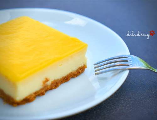 Cheesecake al lemon curd