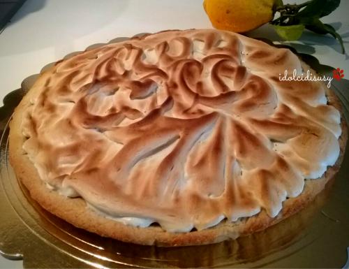 Crostata meringata con lemon curd