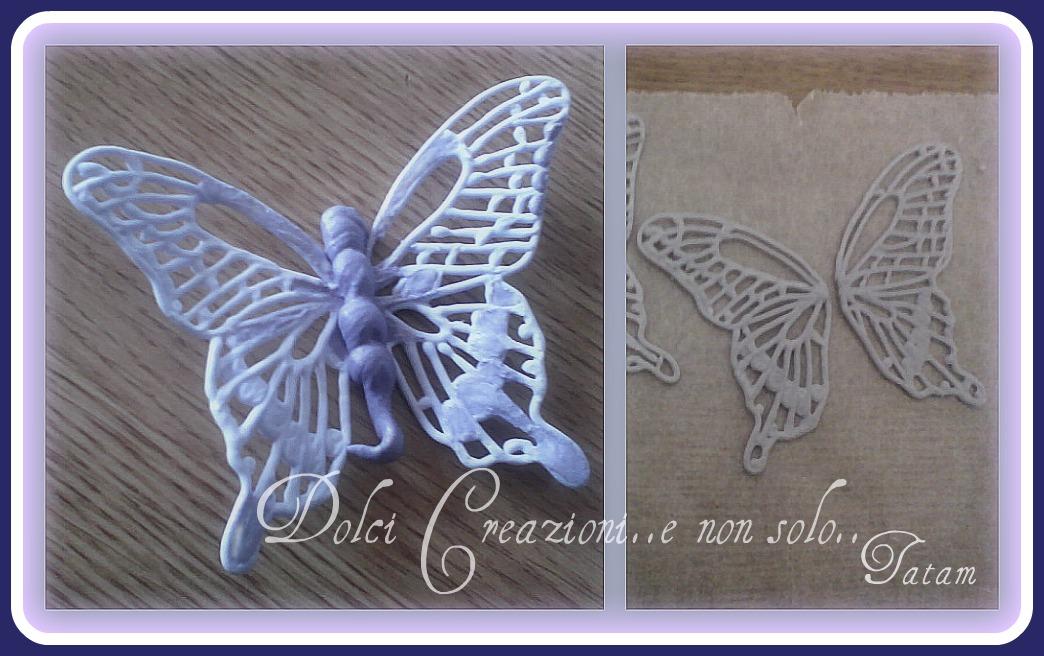 farfalle di ghiaccia reale dolci creazioni e non solo