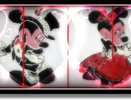 Topolino e Minnie in ghiaccia reale | tutorial
