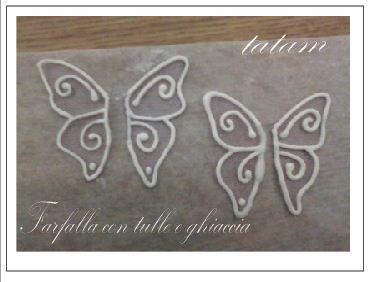 Tutorial Farfalle di ghiaccia reale con Tulle