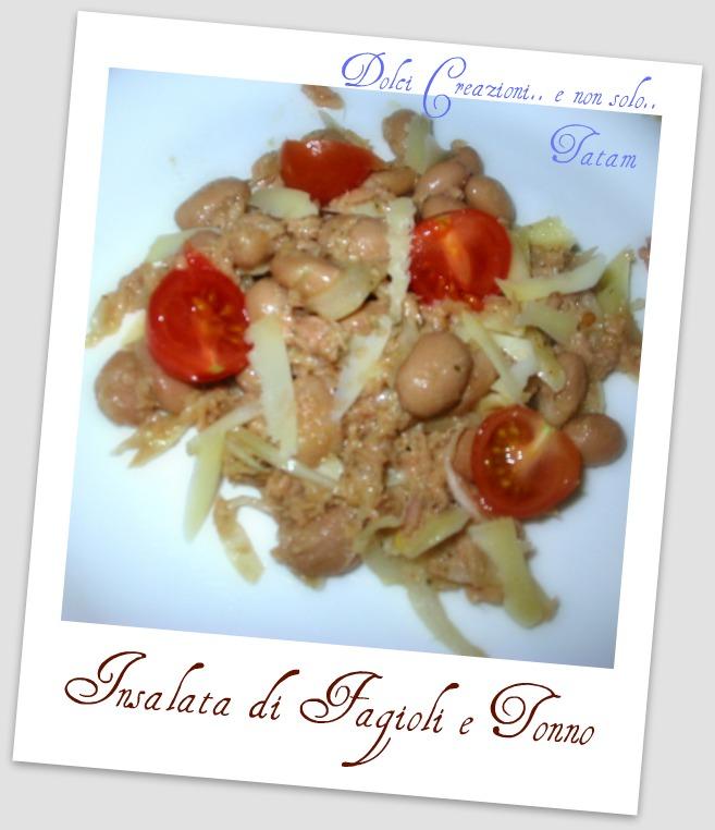 Insalata di Fagioli e Tonno | ricetta veloce senza cottura