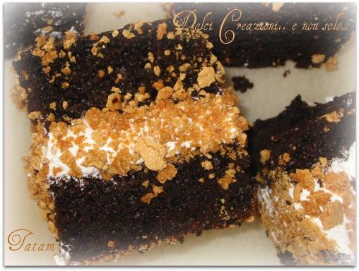 Dolci pasticcini neri Sweet Pastries Blacks