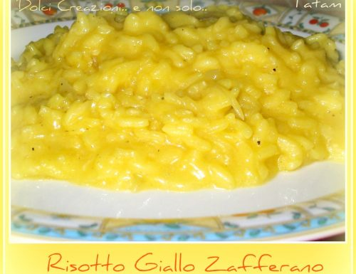 Risotto Giallo Zafferano, ricetta saporita