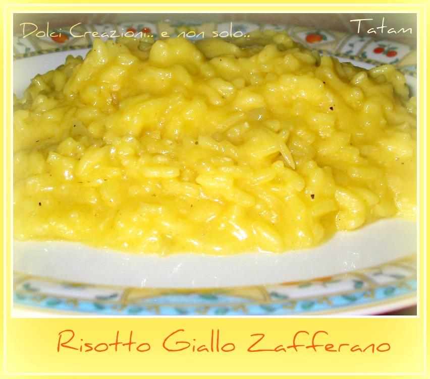 Risotto Giallo Zafferano |ricetta saporita