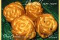 Rose all'arancia dal cuore tenero