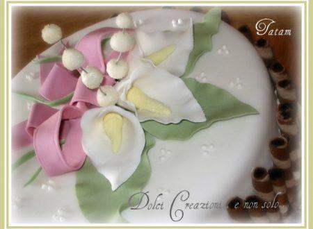 Calla Lily Cake ..Per il mio compleanno
