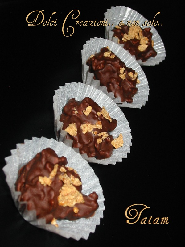 cioccolatini ai corn flakes