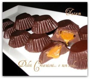cioccolatini ripieni al caramello 1