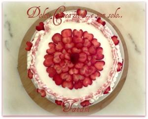 torta cuori di fragola 1