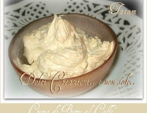 Crema di Burro al Caffè, ricetta senza uova