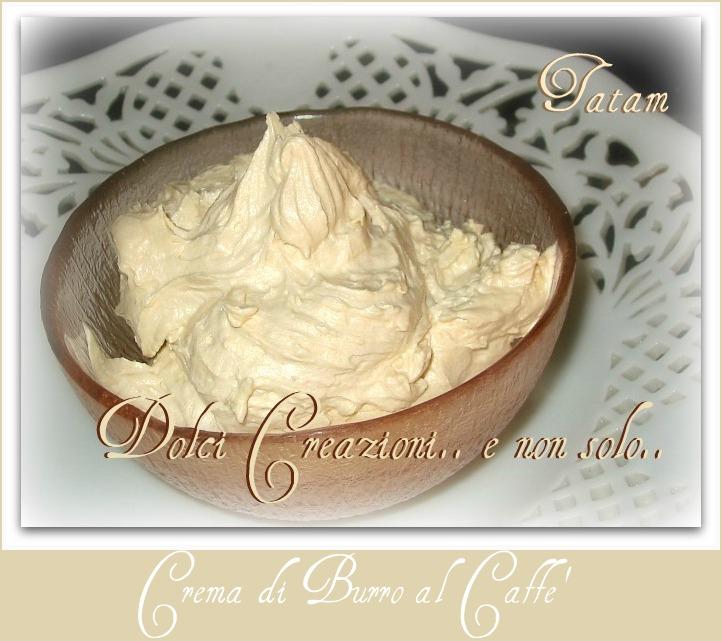 Crema di Burro al Caffe' | ricetta senza uova