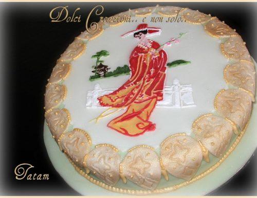 Geisha Cake | torta decorata