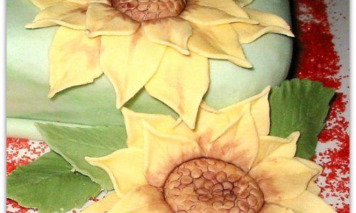 Girasoli in pasta di zucchero | Tutorial