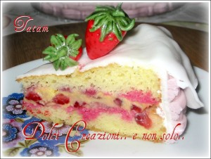 Torta Cestino di Fragole   torta decorata